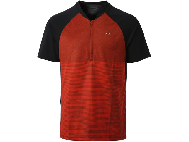 Protective P-Tag Maillot de cyclisme Homme, dark rust